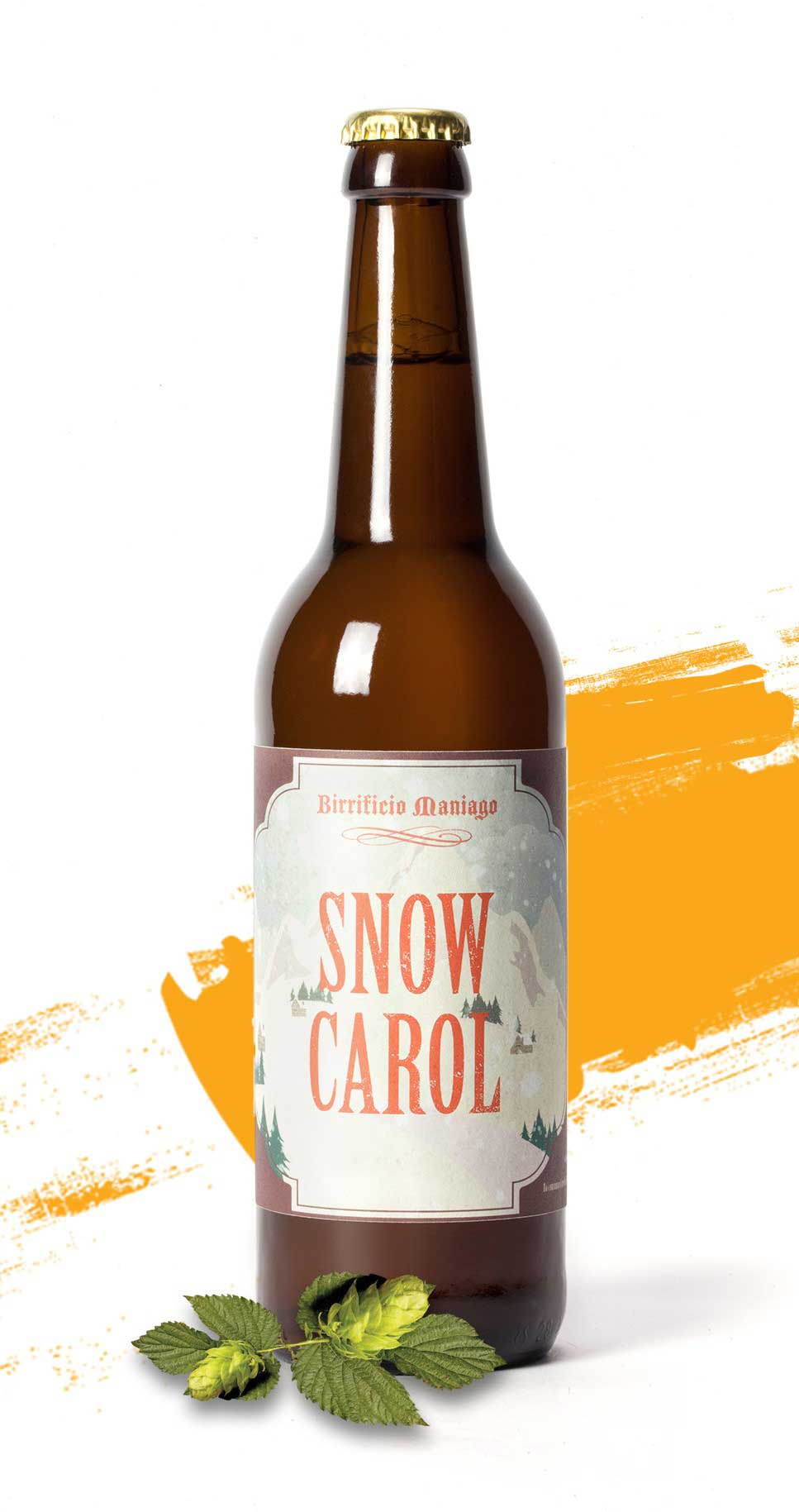 Snow Carol - Birrificio di Maniago - Bottiglia da o.5 L