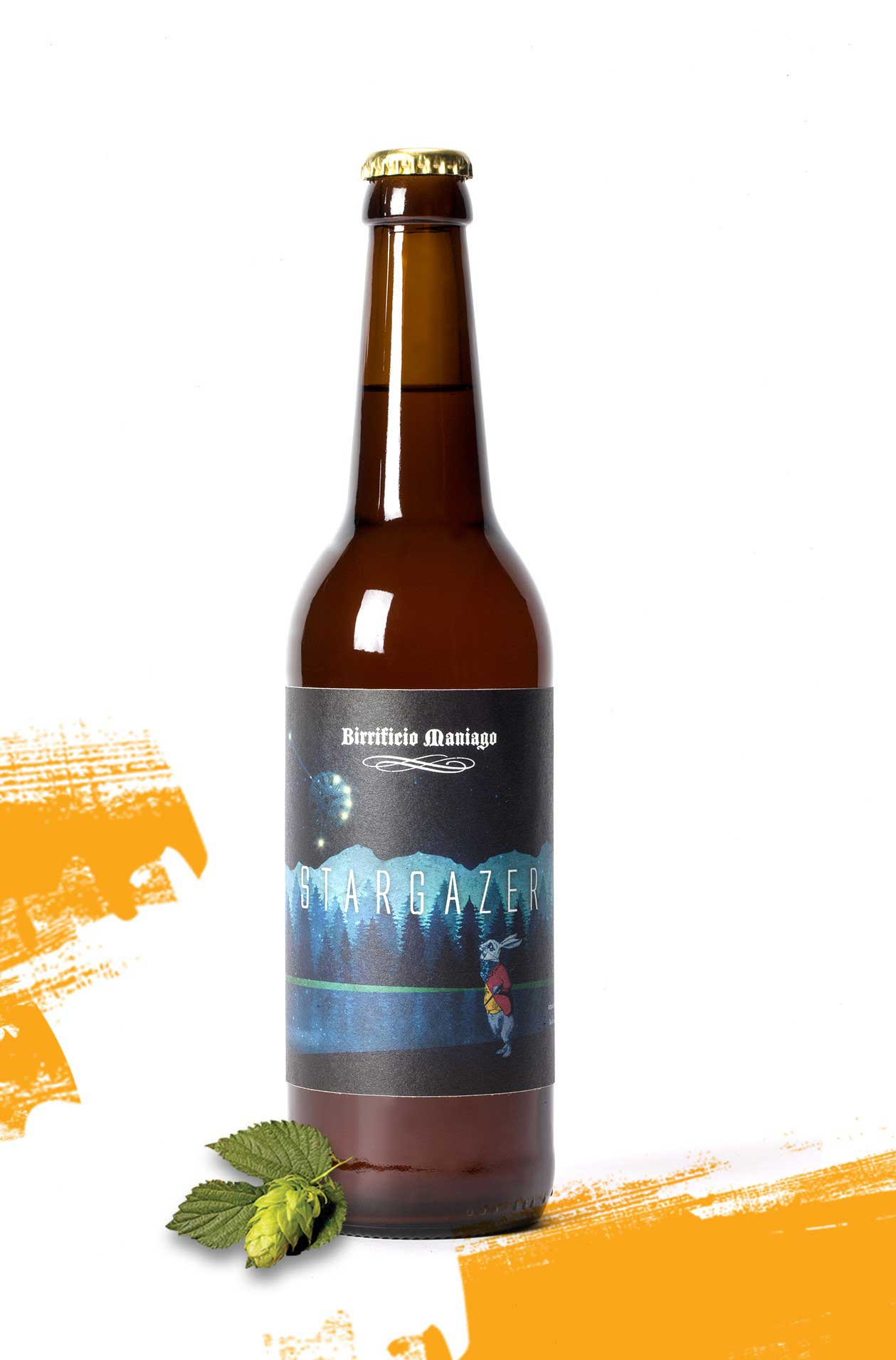 Stargazer - Birrificio di Maniago - Bottiglia da o.5 L