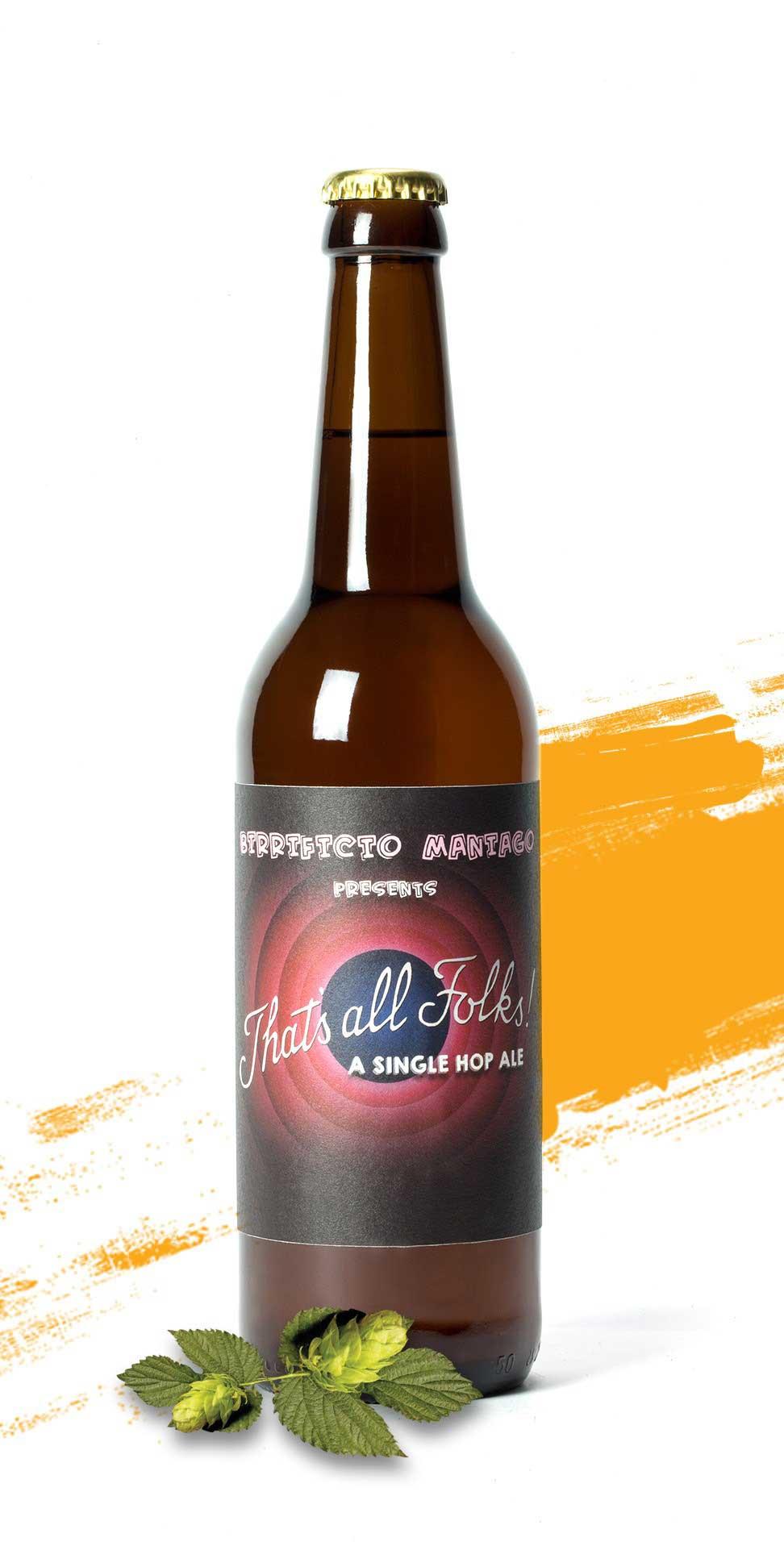 That's all folks - Birrificio di Maniago - Bottiglia da o.5 L