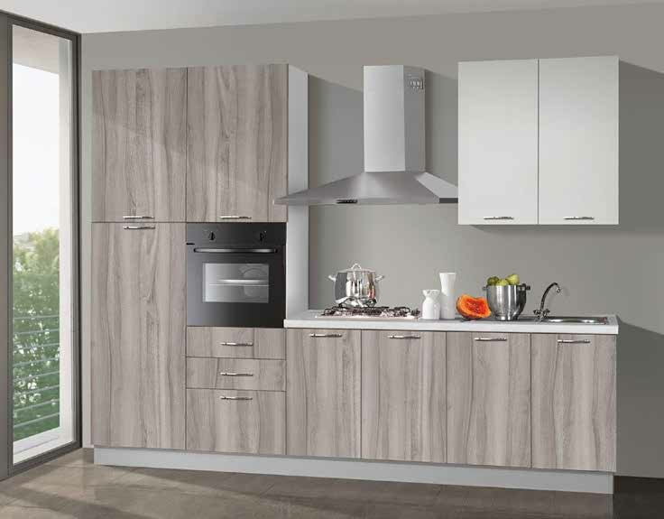 CUCINA NEW SMART 300 CM H240