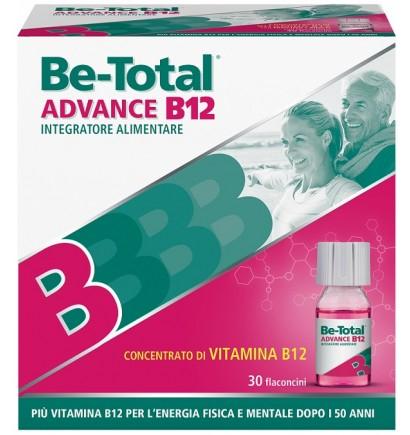 Be Total Advance B12 Integratore per stanchezza fisica e mentale 30 flaconcini