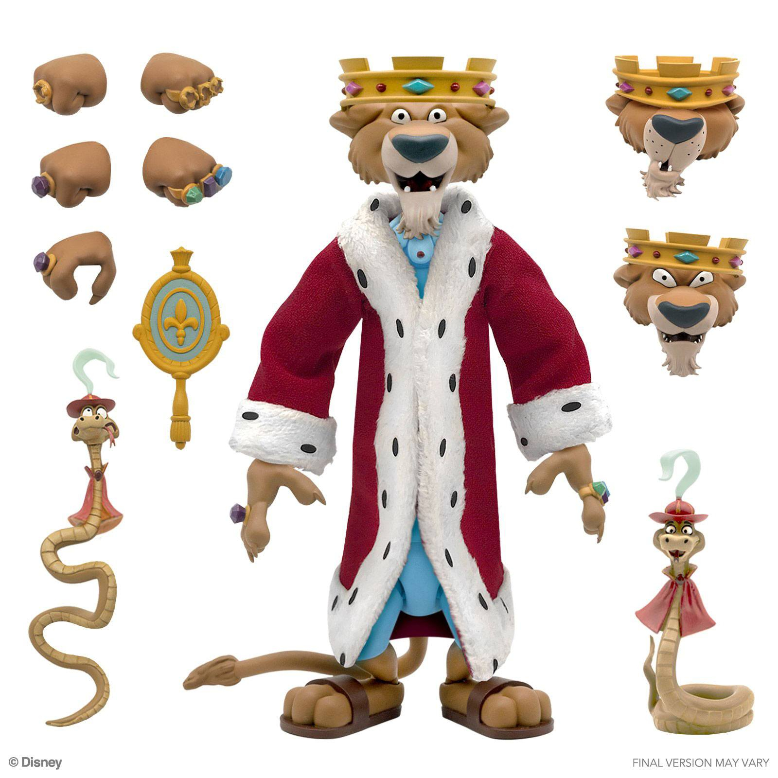 *PREORDER* Action Figure Disney Ultimates : PRINCIPE JOHN by Super 7