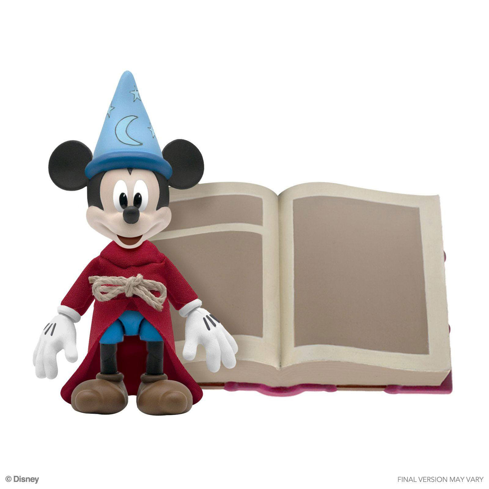 *PREORDER* Action Figure Disney Ultimates : TOPOLINO APPRENDISTA STREGONE by Super 7