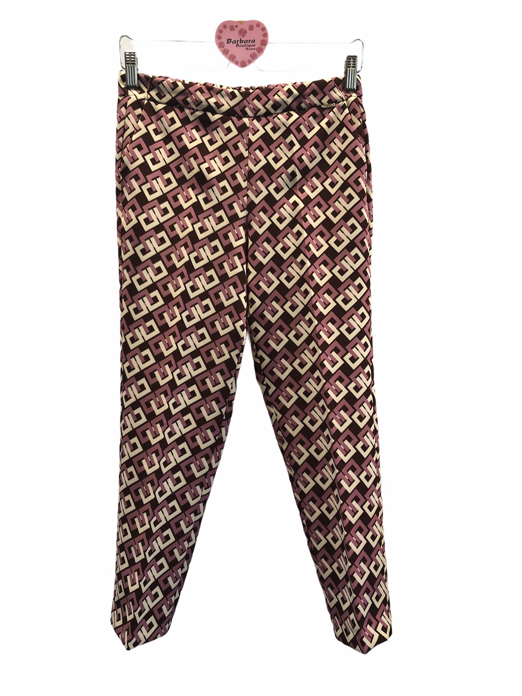 Pantalone capri catene