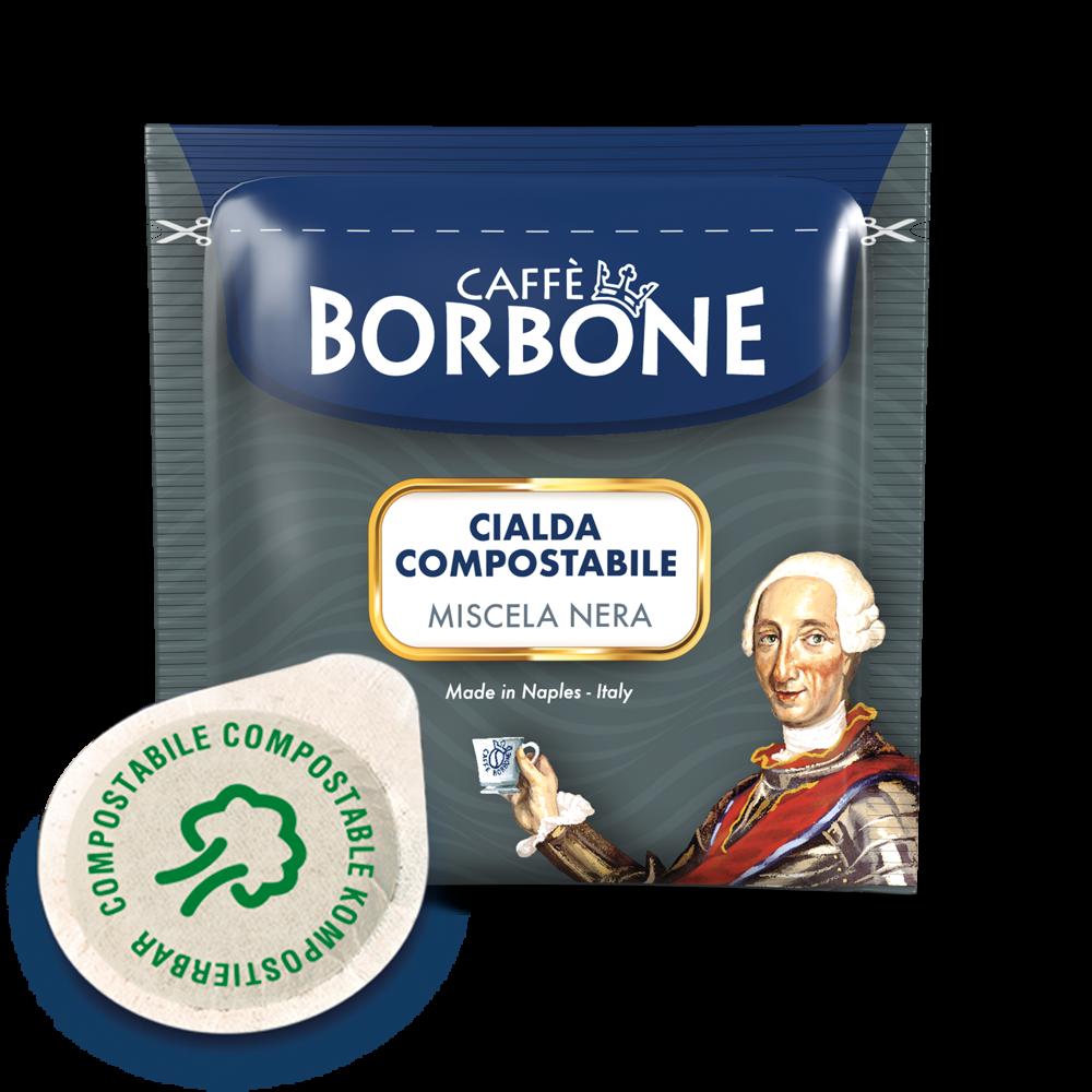 100 Cialde Nere Borbone 44 mm