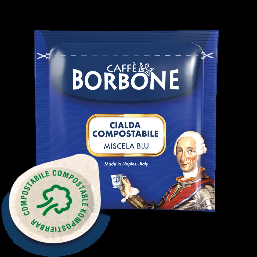 100 Cialde Blu Borbone 44 mm