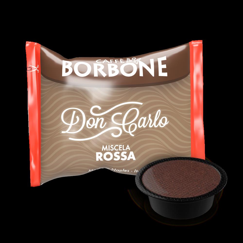 100 CAPSULE A MODO MIO ROSSA BORBONE