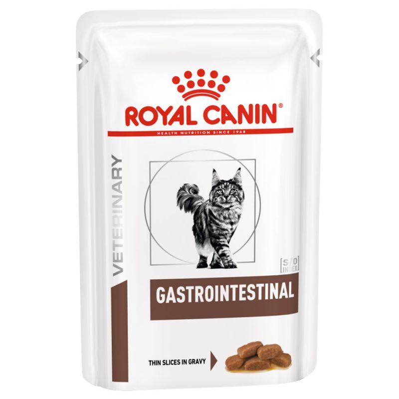 ROYAL CANIN VETERINARY DIETS CAT GASTROINTESTINAL BUSTE 85 GR