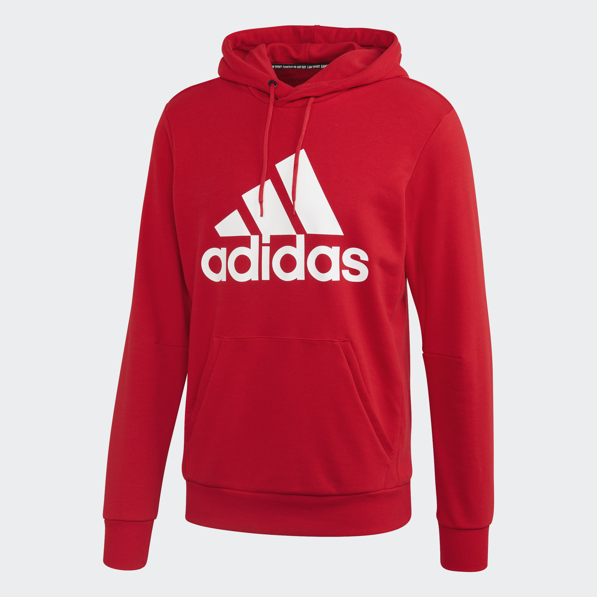 Adidas FELPA CON CAPPUCCIO MUST HAVES BADGE OF SPORT