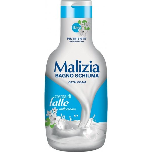 MALIZIA Crema di latte Bagnoschiuma 1L