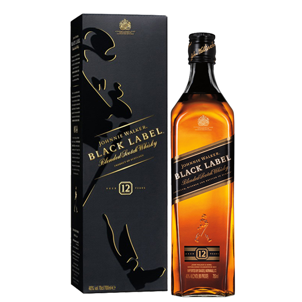 Whiskey Johnnie Walker Black Label 12 anni CL.70