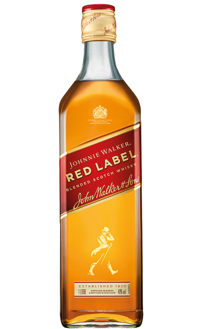 Whiskey Johnnie Walker Red Label LT.1