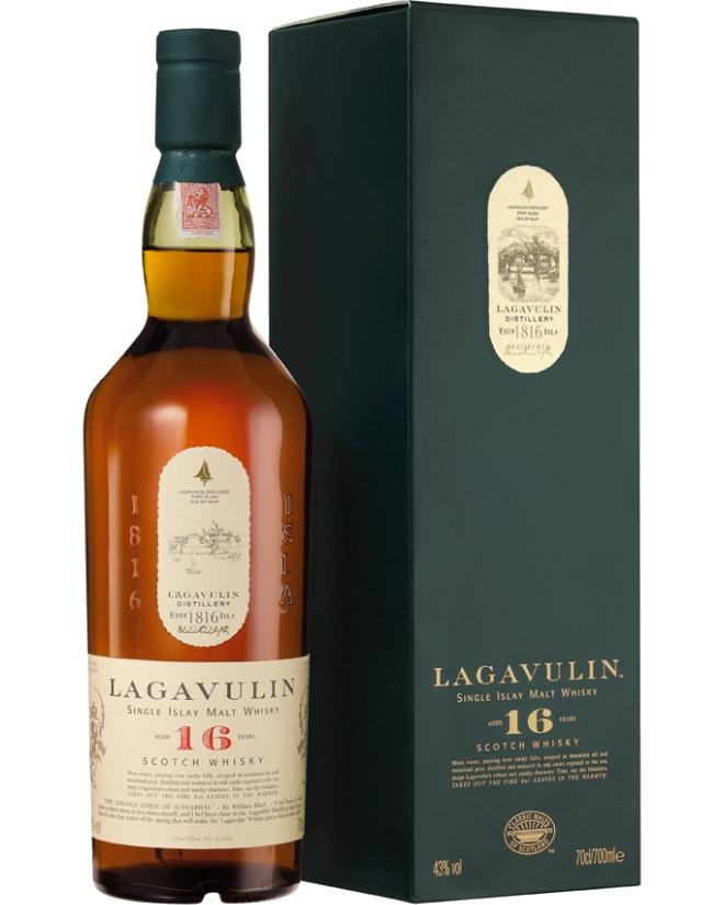 Whisky Lagavulin Scotch 16 anni CL.70