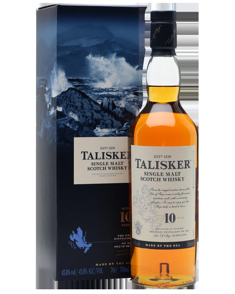 Whisky Talisker Single Malt Scotch CL.70
