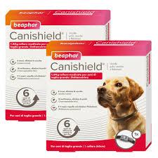 Canishield 2 collari antiparassitari per cani L 65cm Beaphar