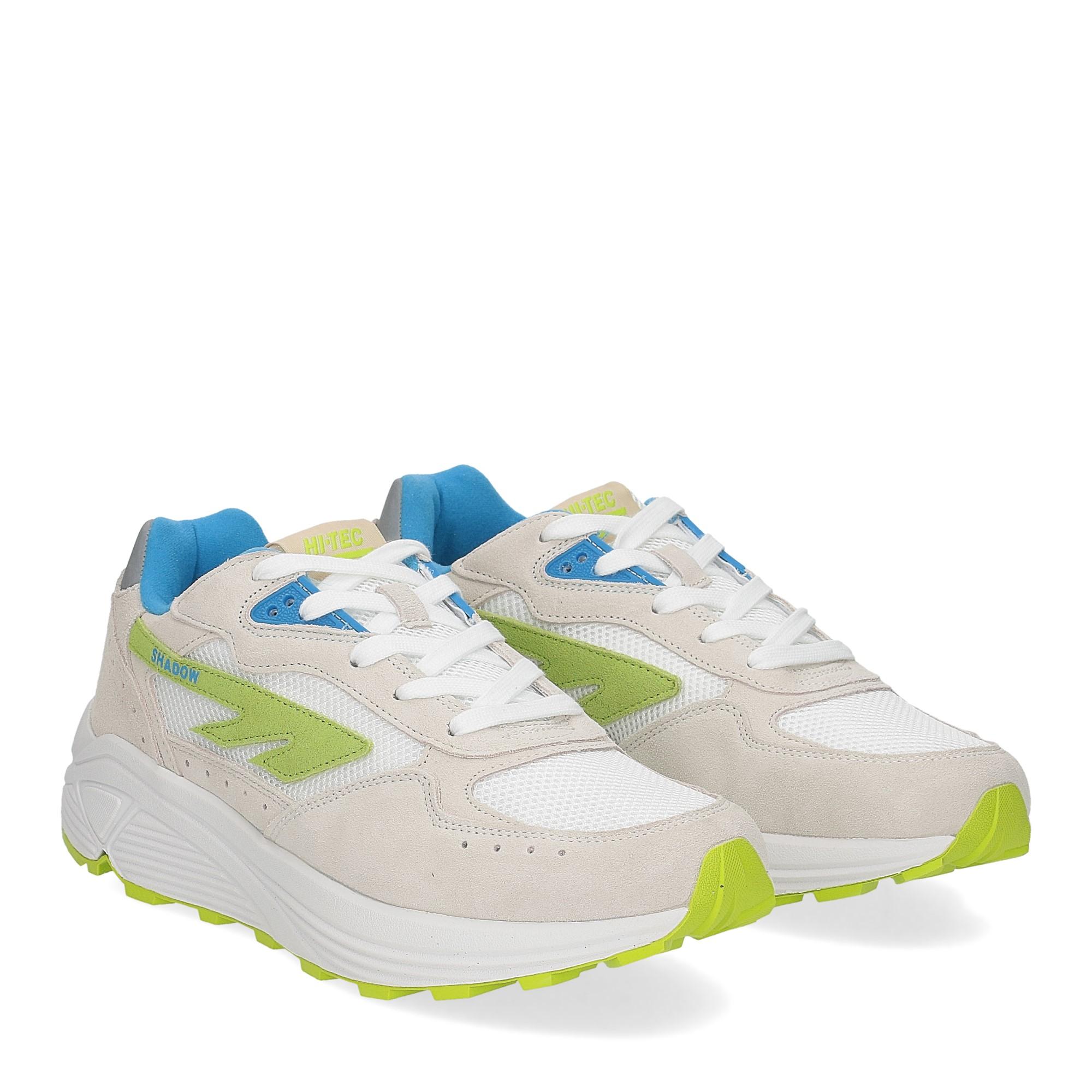 Hi-Tec Sneaker Shadow white blue lime