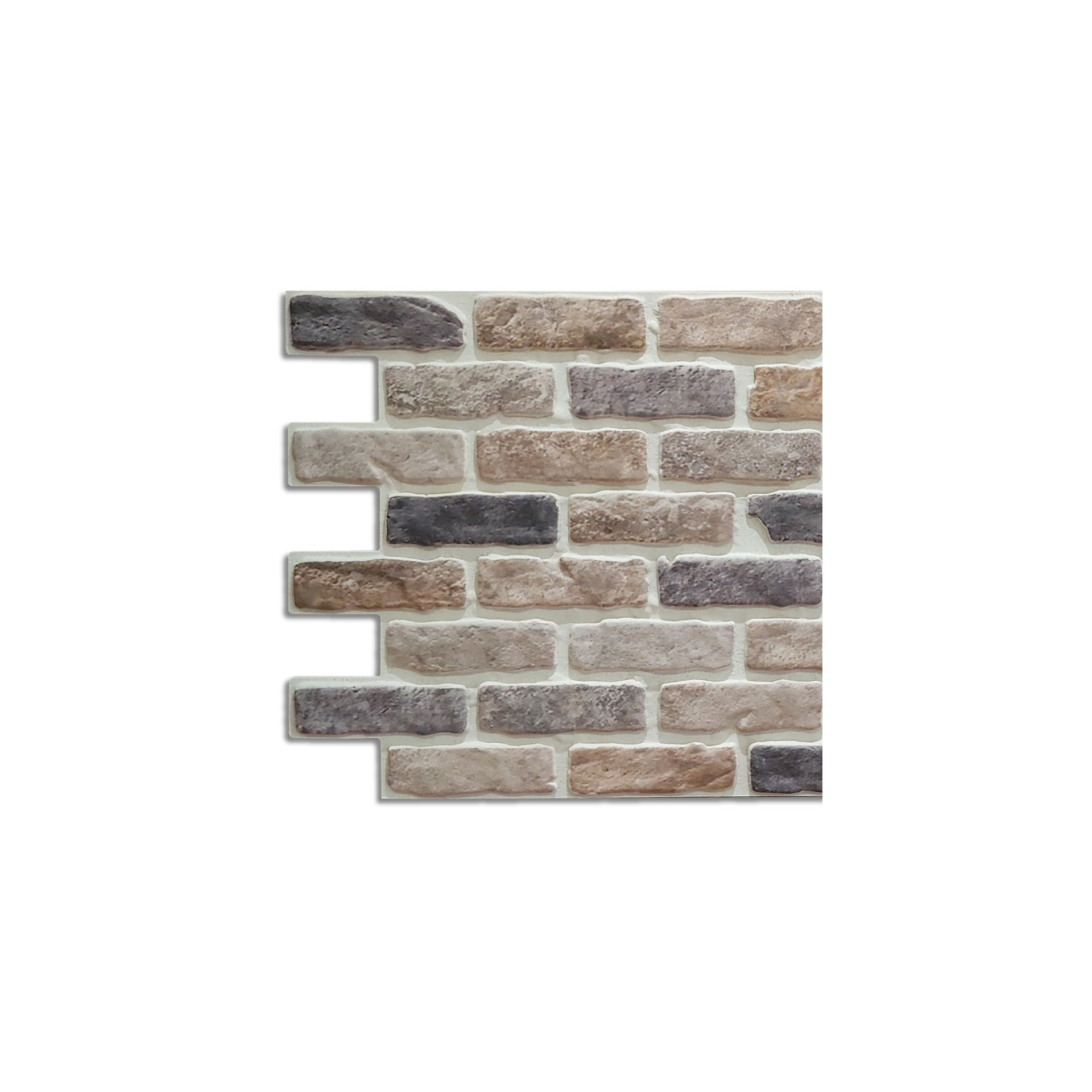 Covered Brick Panel Bristol Sample