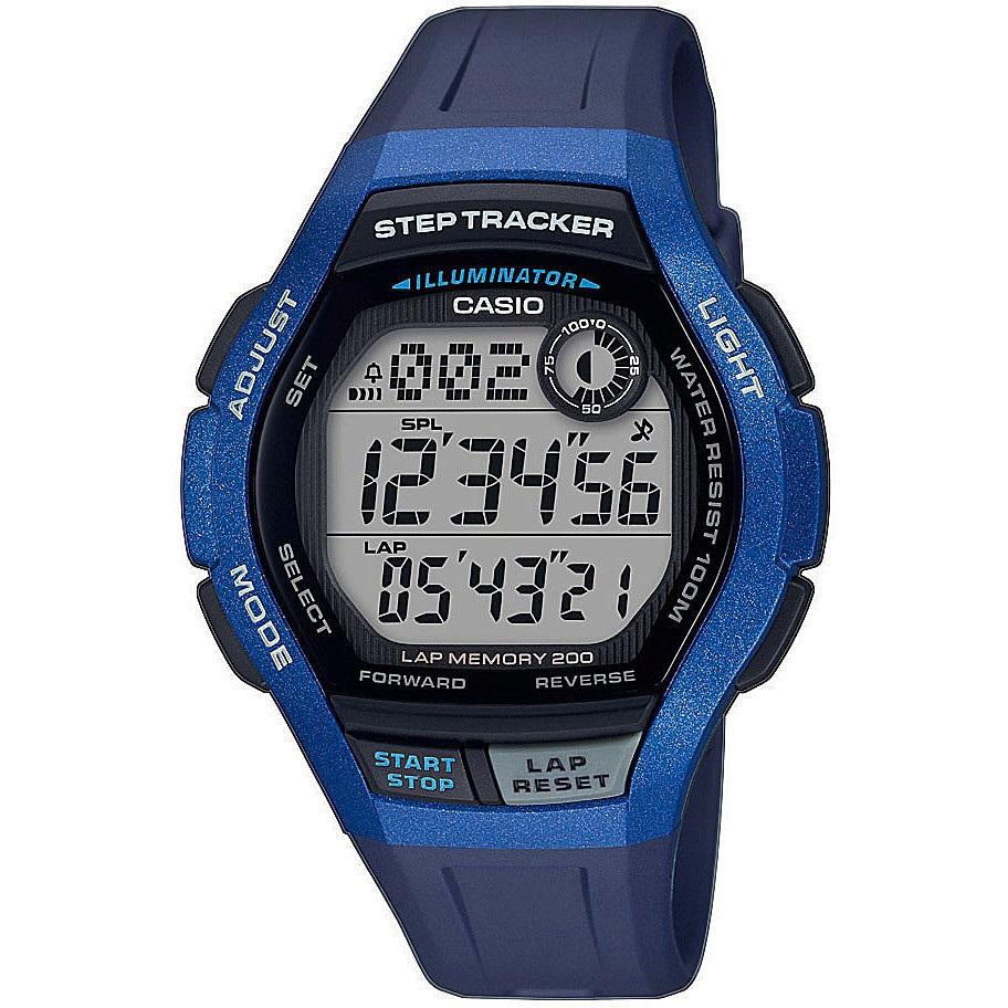 Casio Sports orologio digitale uomo, blu