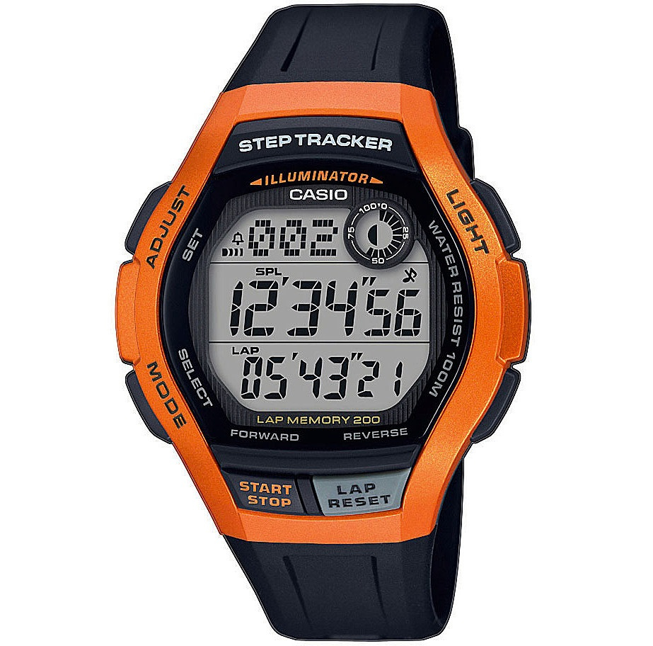 Casio Sports orologio digitale uomo, copper