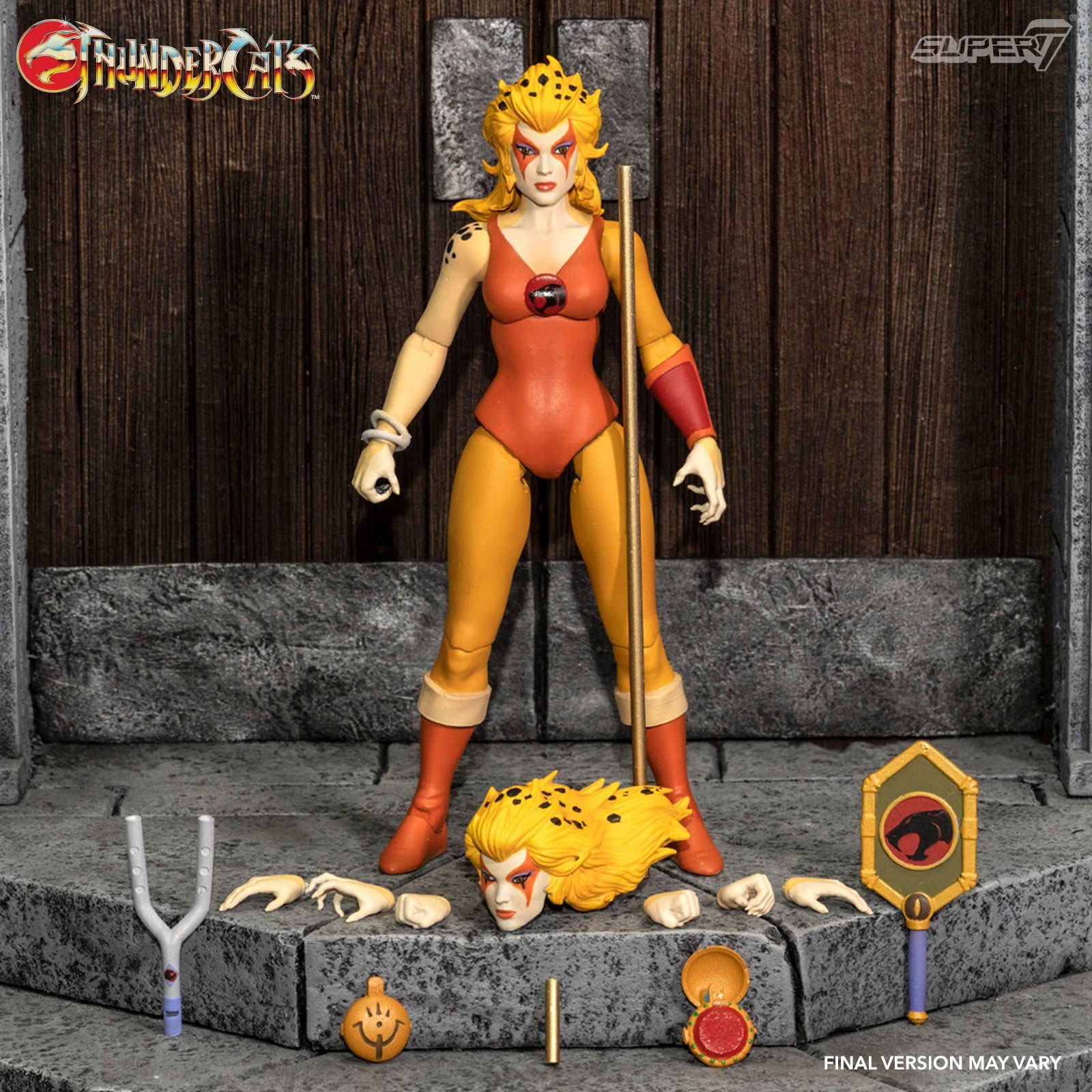 *PREORDER* Thundercats Ultimates Action Figure: CHEETARA THE SUPER SPEEDY THUNDERCATS WARRIOR by Super7