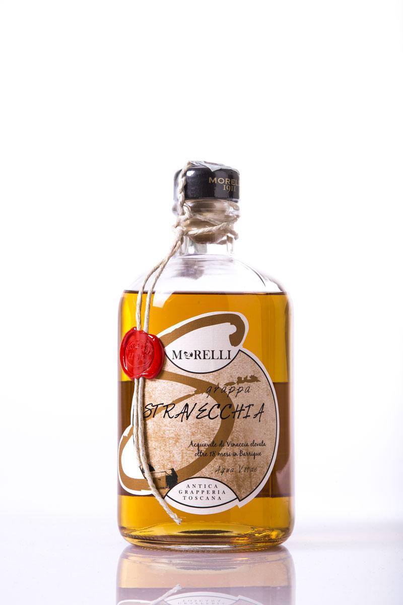 Grappa Morelli Stravecchia Farmacia LT.1