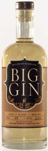 Captive Spirits Big Gin Bourbon Barreled CL.70