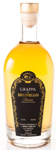 Grappa Morelli di Brunello CL.50