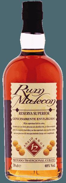 Rum Malecon Cuba 12 Anni CL.70