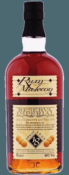 Rum Malecon Cuba 18 Anni CL.70