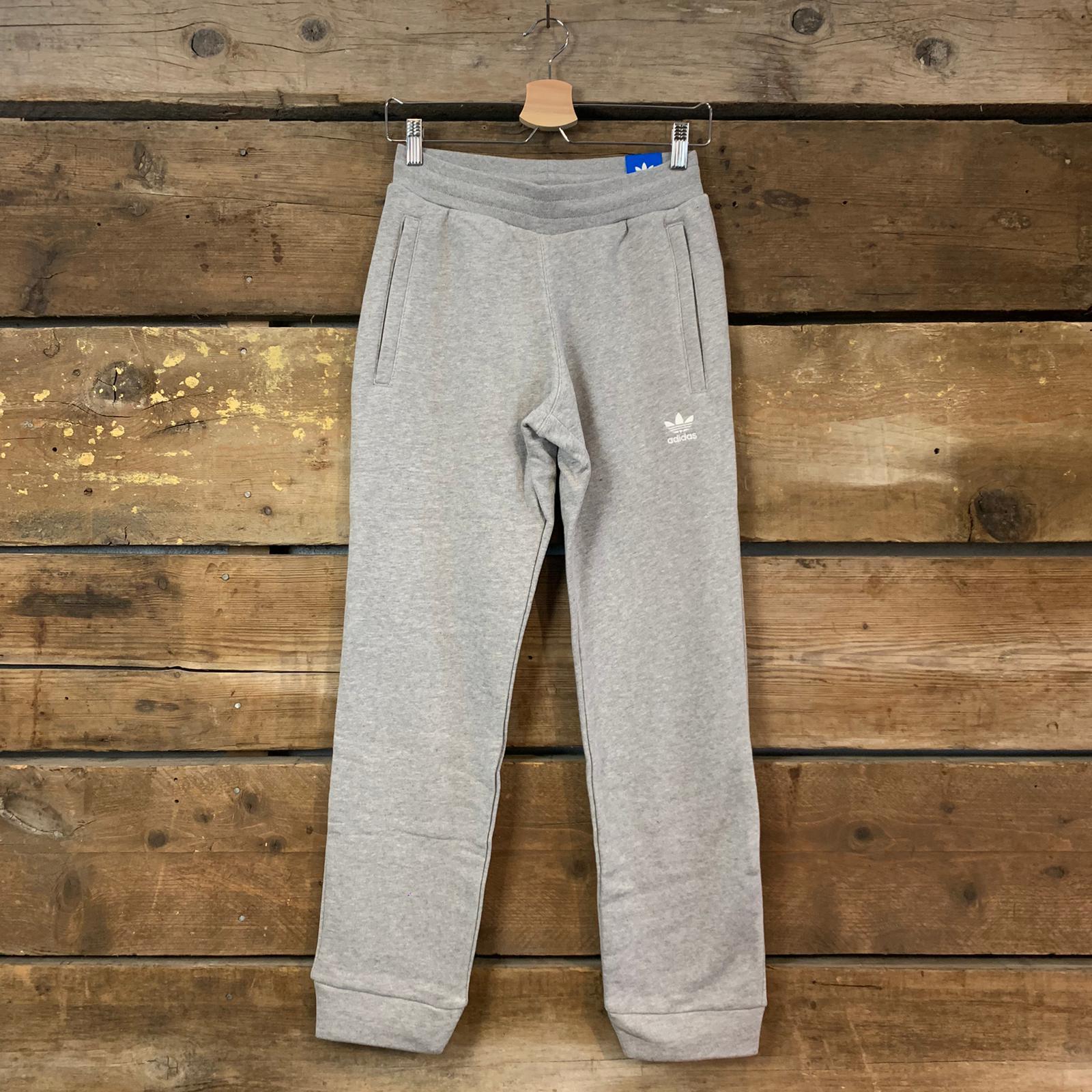 Pantalone Adidas Trefoil Slim Pant Grigio