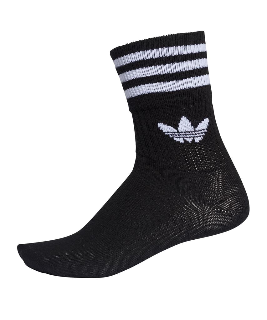 Adidas Mid Cut Crew Sock 3 Pack