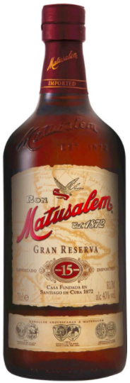 Rum Matusalem 15 anni Gran Reserva CL.70