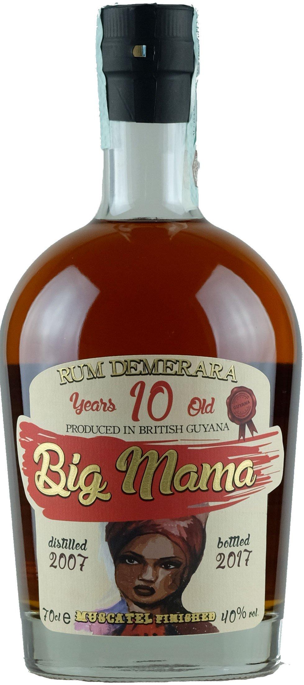 Rum Big Mama 10 Years From British Guyana CL.70