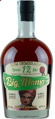 Rum Big Mama 12 Years From British Guyana CL.70