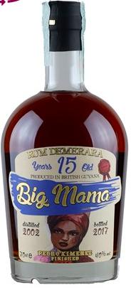 Rum Big Mama 15 Years From British Guyana CL.70