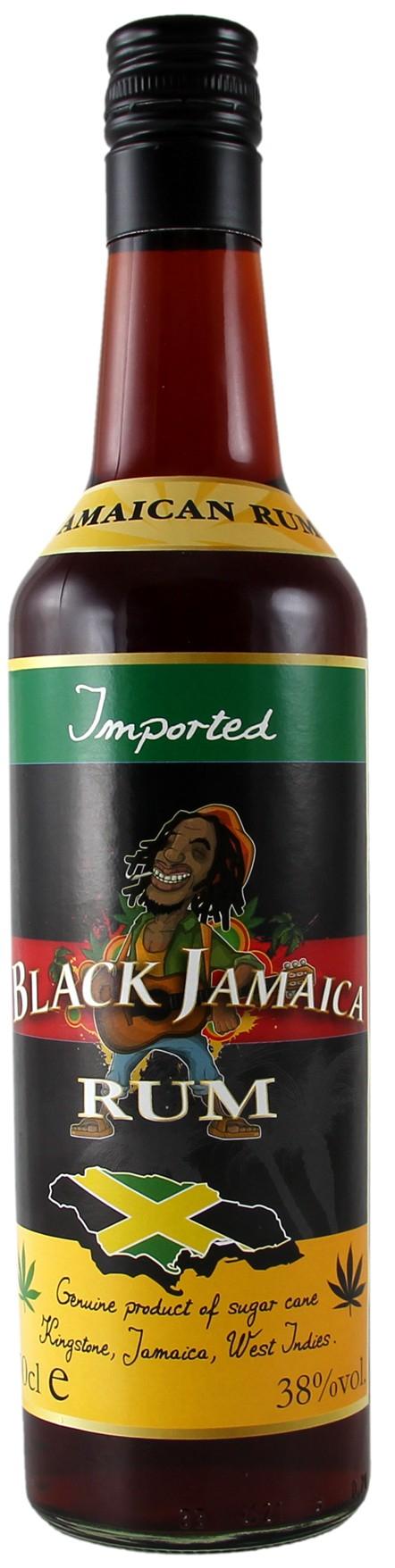 Rum Black Jamaica CL.70