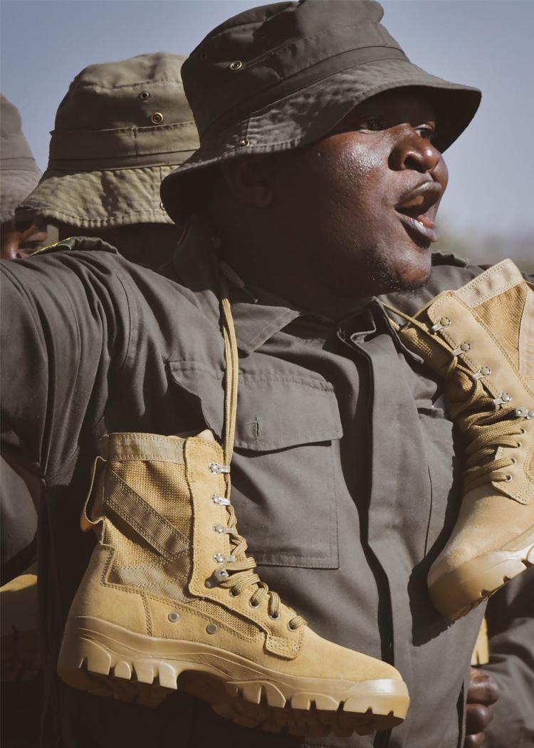 Garmont - Garmont ai piedi dei ranger in Sud Africa