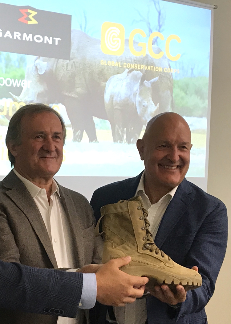 "Garmont - Garmont commits to ""Save the Rhino"" in South Africa. ""Rediscovering wildness is key to a brighter future"""