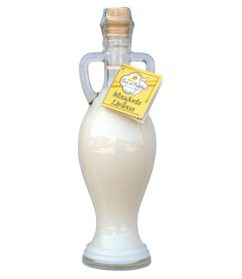 Liquore Gocce Di Calabria Crema di Mandorle e Limone CL.50