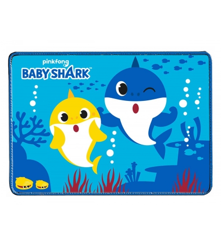 Suncity Tovaglietta all'Americana Baby Shark Dim. 45x33cm in Misto Cotone