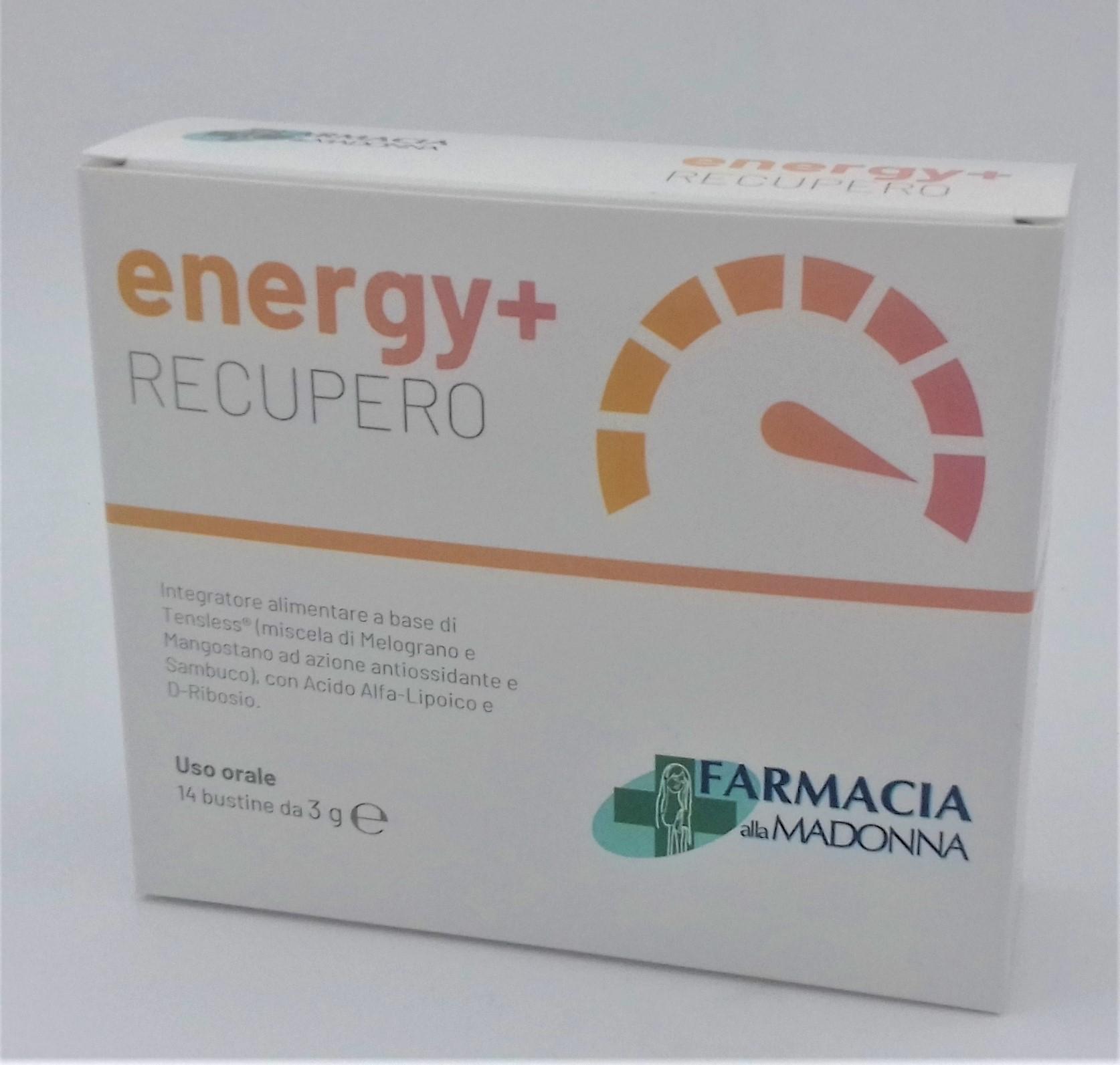 ENERGY+ RECUPERO 14 BUSTINE
