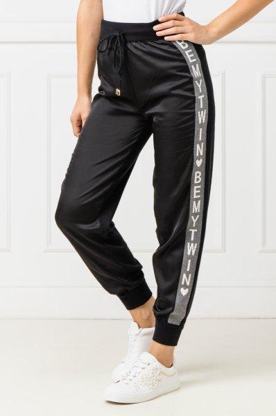 Pantalone Jogging nero TWIN SET