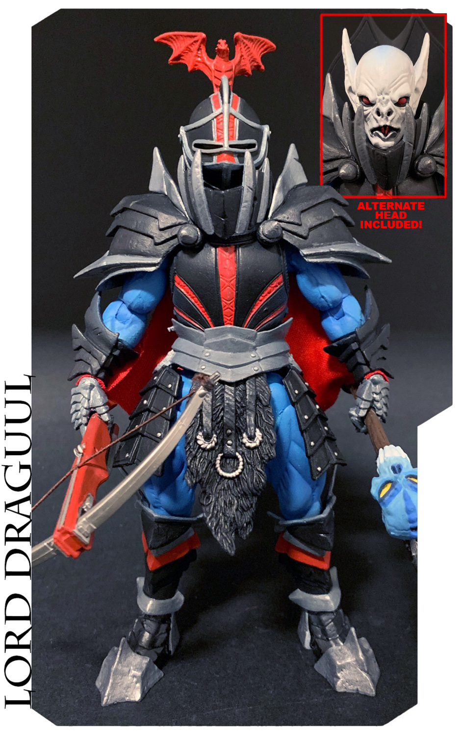 *PREORDER* Mythic Legions - All-Stars 3: Lord Draguul (Illythia's Brood) Figure by Four Hourseman