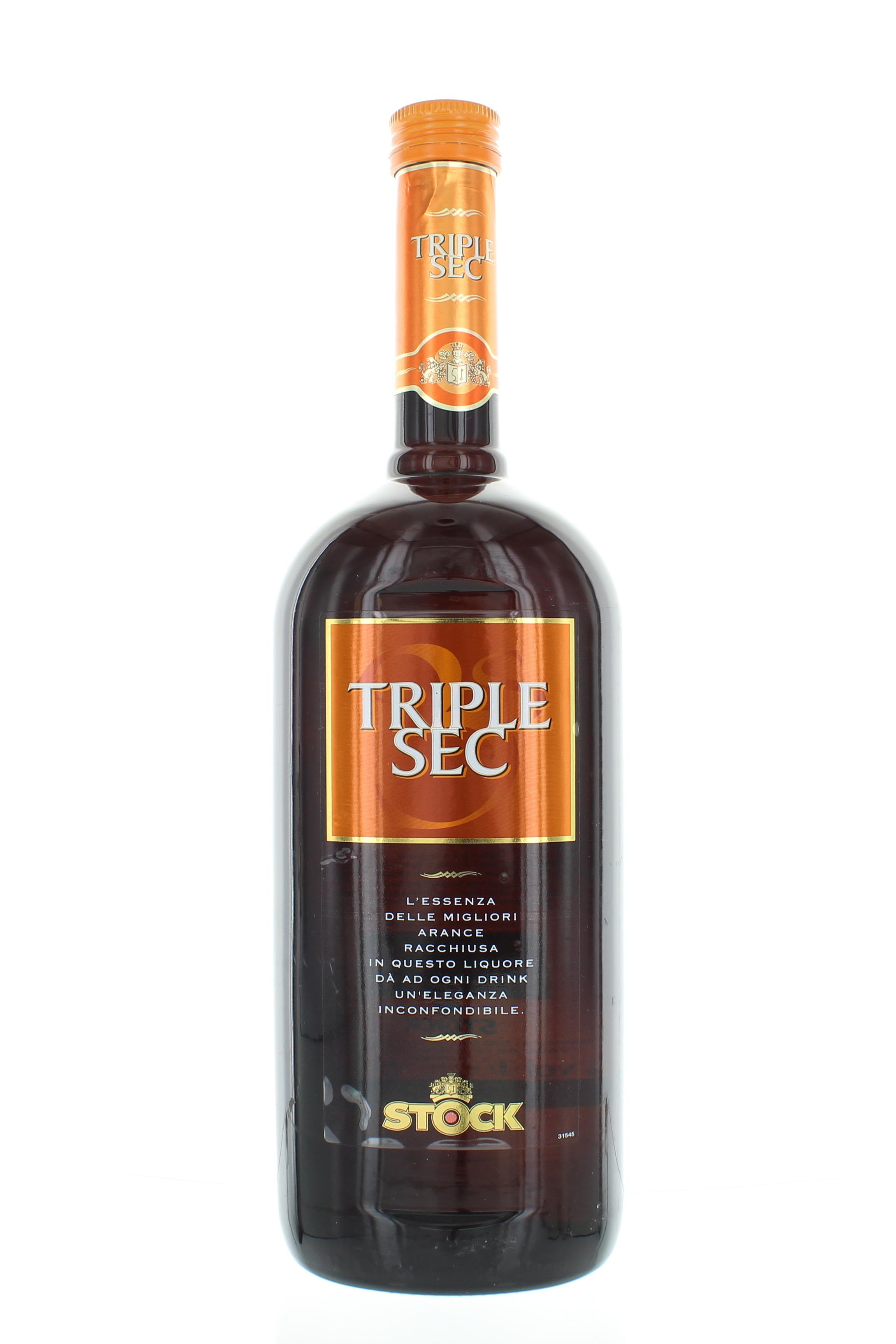 Liquore Stock Triple Sec Essenza di Arance Per Drink LT.1