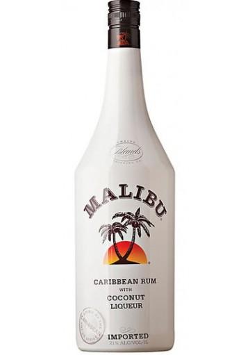 Liquore Malibu Caribbean Rum With Coconut Flavour LT.1