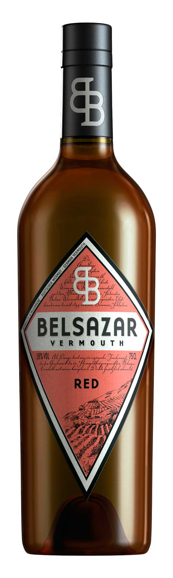 Vermouth Belsazar Red CL.75