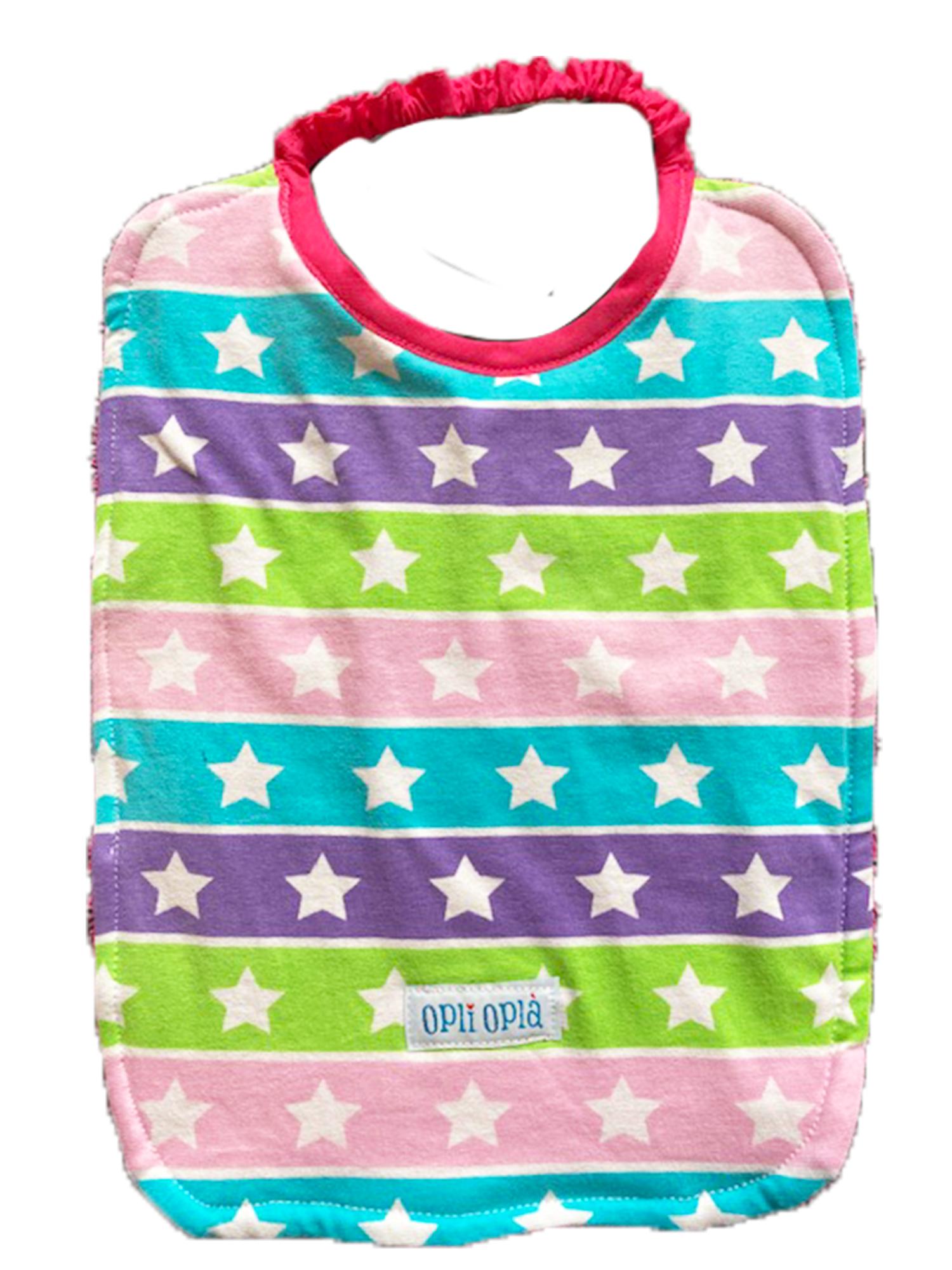 Multi stelle rosa -bavaglino con elastico