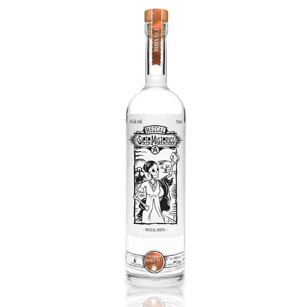 Tequila Siete Misterios Mezcal 100% Agave Mexico CL.70