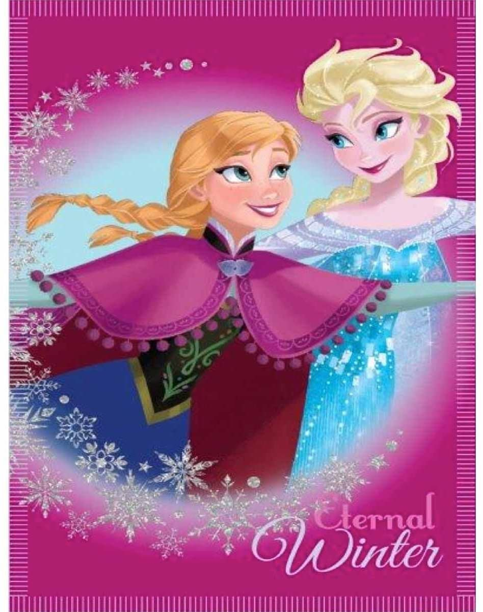 Plaid  Frozen Anna Elsa