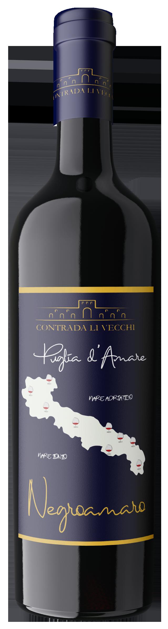 Puglia d'Amare - Negroamaro IGT - Contrada Li Vecchi